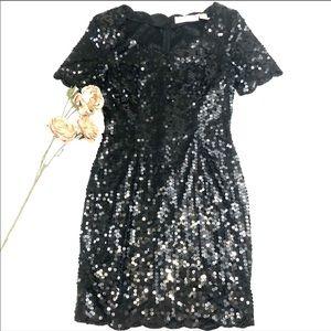 Vintage Niteline by Della Roufogali Sequin Dress